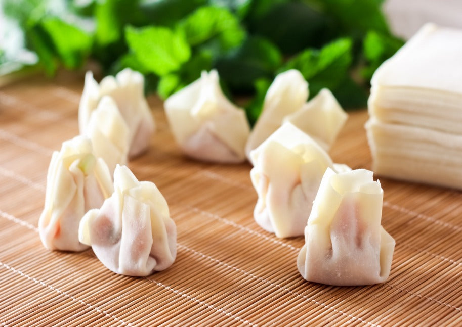 Jumbo Shrimp and Pork Wonton 大蝦雲吞 (Frozen 2 pack x 250g)