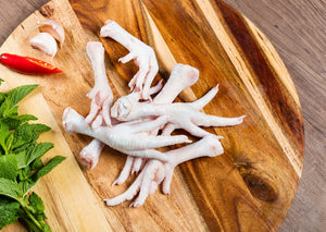 Chicken Feet 冰雞腳 (Frozen ±2 Lb)