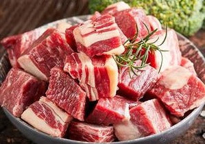 Cow Flank Cube Cut 牛坑腩 (Frozen, 3 Lb)