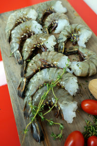 Family Combo: Lamb Rack + Jumbo Black Tiger Shrimp 家庭組合: 羊架+大蝦 (Frozen 354g/ 400g)