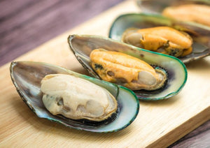 New Zealand Mussels half shell 新西蘭冰半殼青口 (Frozen 454g)