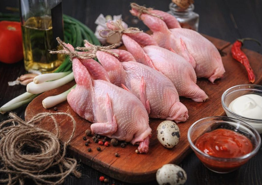 Quail 800g 冰鵪鶉 (Frozen, 6pc/pack)