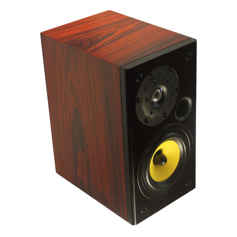 TUNERSYS S162YS Passive Bookshelf Speaker,Yellow/Black/Red Wood - one Piece-speaker-TUNERSYS-TUNERSYS