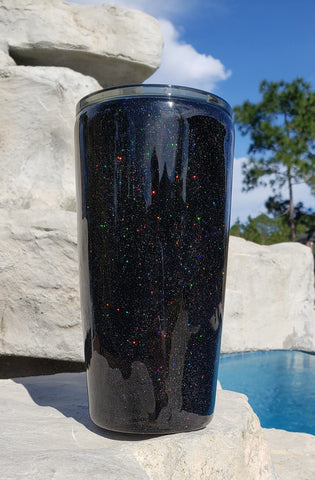 20oz Black Sparkle