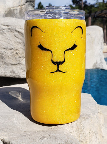 12oz Lion Face Tumbler