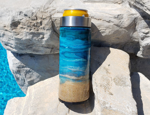 Just Beachy Skinny Can Cooler