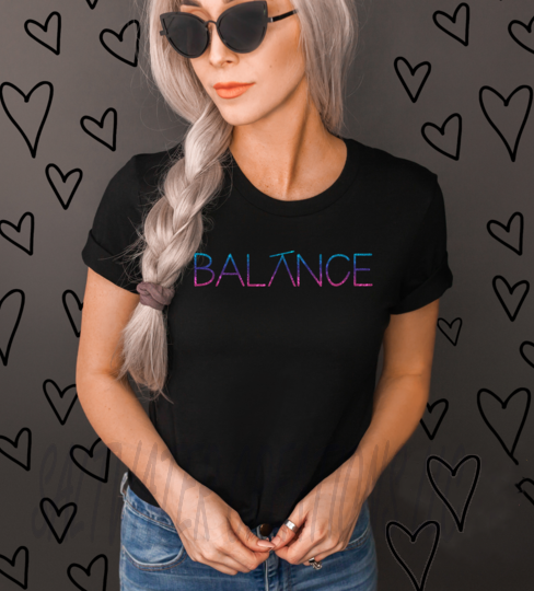 Balance Graphic T Shirt