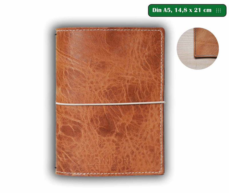 DIN A5 Vintage nature Bujo Cover