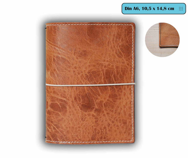 DIN A6 bujo cover Vintage Nature
