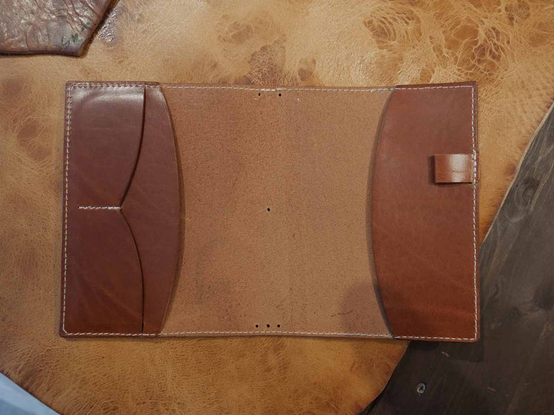 DIN A6 Bullet Journal Cover - Classic Cognac