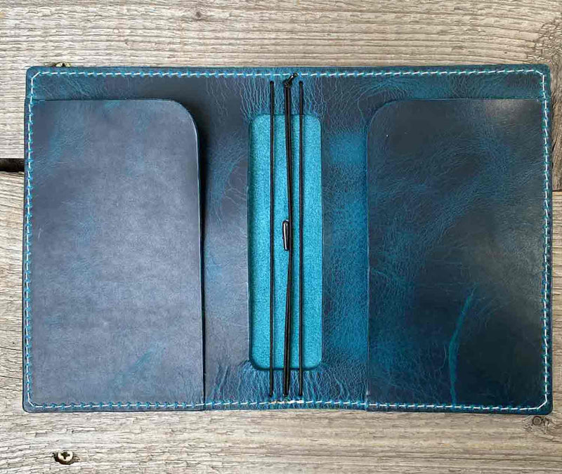 "Travelers Notebook DIN A6  ""limited edition"" smokey blue"