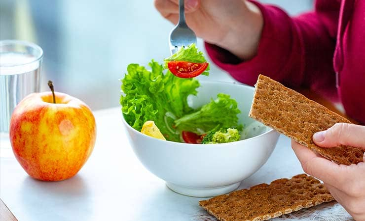 fiber and water diet