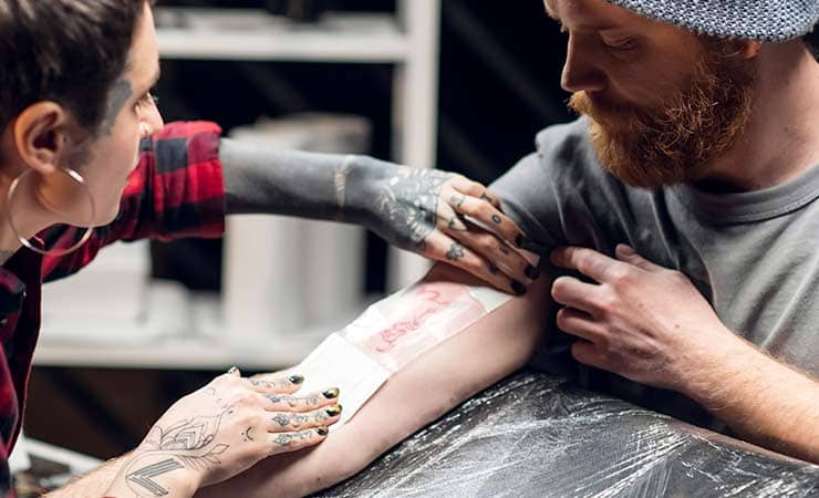 tattoo infection prevention