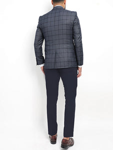Classic Suit - Checked Design