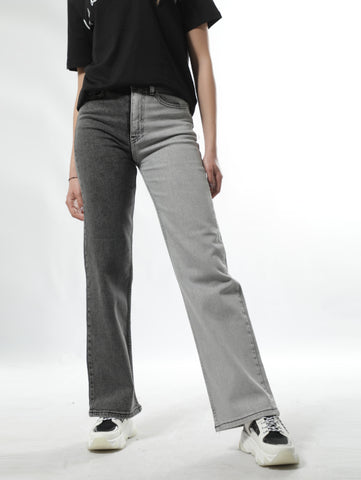 Sailor Black And Gray Double Colored Jeans