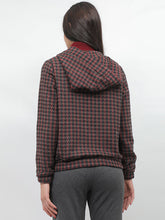 Load image into Gallery viewer, Houndstooth Patterned Jacket