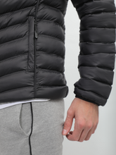 Load image into Gallery viewer, Crom Black Quilted Light Jacket