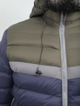 Crom Multi-colored Puffer Jacket