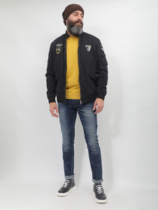 Moustache Casual Designed Jacket