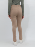 Hailys Casual Stretchy Beige Pants