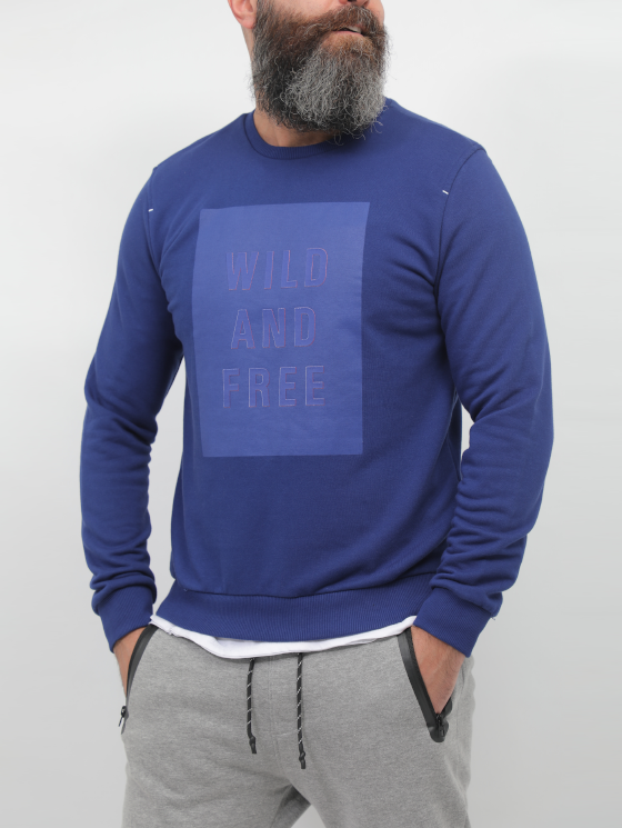 Gianno Ricci WILD AND FREE Designed Pullover