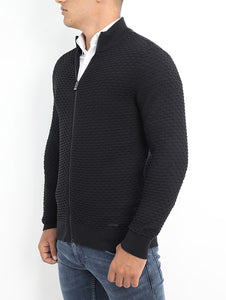 Gianno Ricci Honeycomb Knitwear