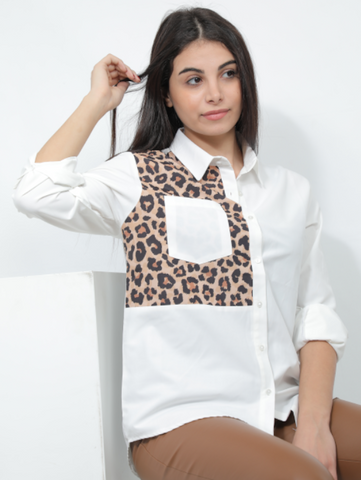 Leopard Designed Shirt