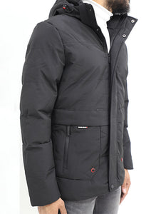Crom Quilted Parka Jacket