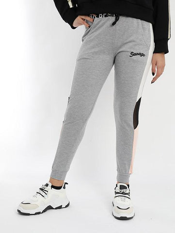 A designed Sweatpants In Gray