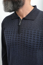 Load image into Gallery viewer, Designed Polo Sweater
