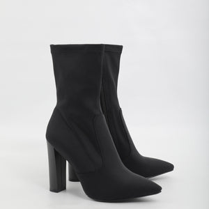 Rouge Rose Ankle Boots
