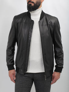 Robinson Baseball Leather Jacket