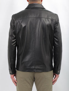 Robinson Formal Leather Jacket