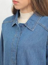 Load image into Gallery viewer, Ripped Denim Shirt