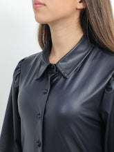 Load image into Gallery viewer, Tunic Leather Shirt