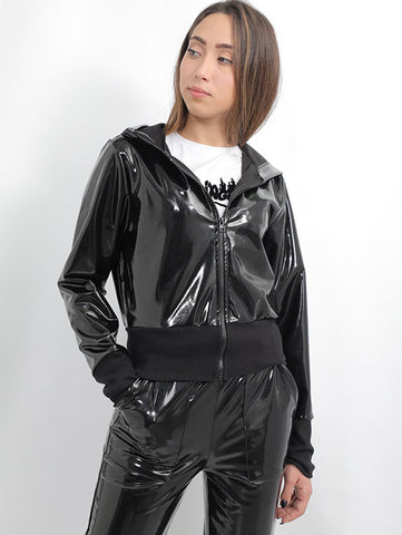 Vinyl Stylish Jacket