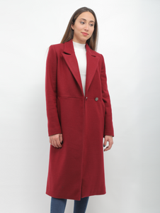 Rouge Rose Long Coat