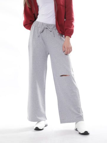 Loose Fitted Sweatpants In Gray