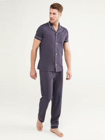 Penti Dark Indigo Deep Ocean SS Shirt Trouser Set