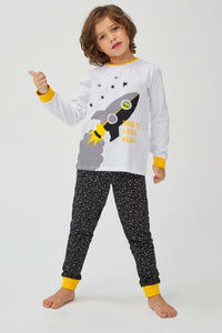 Penti Multi ColorBoy Space Pajama