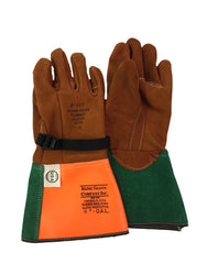 Kunz - Red Buffed Cowhide Glove Protector -1007-5BC - J.L. Matthews Co., Inc.