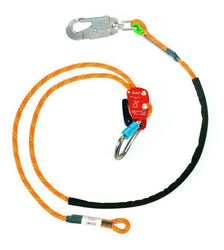 Jelco RAD Adjustable Rope Safety with Aluminum Swivel Snap Hook
