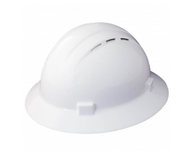 ERB  Americana Vented Hard Hat; White- 19431