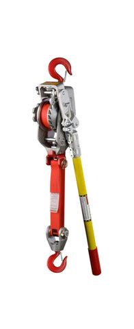 Lug-All - 1-1/2 Ton Web Strap Hoist -  25-A