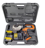 Klein- Battery Operated 12 Ton Crimper Kit- BAT20-12T1651