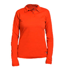 NSA- Women's Vizable FR Long Sleeve Polo- C54VRPSLSSCW_