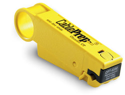 Cableprep- Drop Cable Strip Tool , Yellow -CPT-6590, Cableprep - J.L. Matthews Co., Inc.