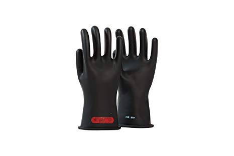"OEL - Rubber Gloves 14"" Length, 1,000 Max Use Voltage - IRG-0-14"