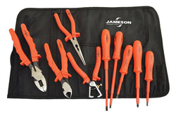 Jameson Insulated Tool Kit 9-Piece Electricians - JT-KT-00001
