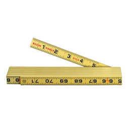 Klein Tools -  Fiberglass Inside Reading Folding Ruler - 910-6